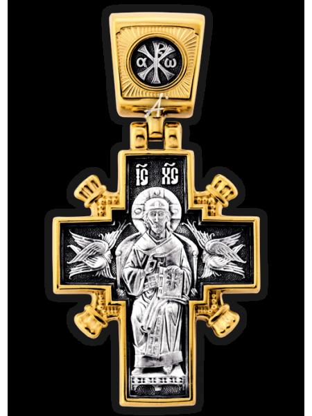 «Иисус Христос «Царь царей». Икона Божией Матери «Державная»