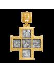«Господь Вседержитель. Великомученик Пантелеимон со сценами жития»