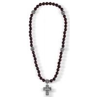 Православные четки с Крестом из турмалина