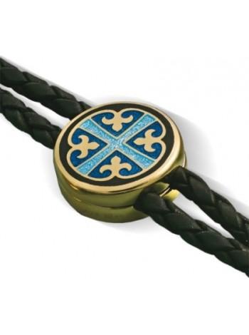 """Православный браслет """"Крест с лилиями"""""""