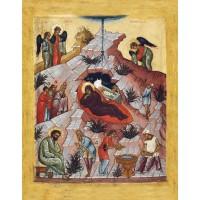 Икона. Рождество Христово. 15 век