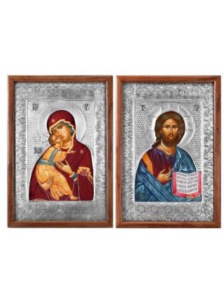 Икона Спас Вседержитель (Венчальная пара)