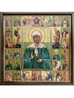 Икона Матрона Московская и Собор Святых