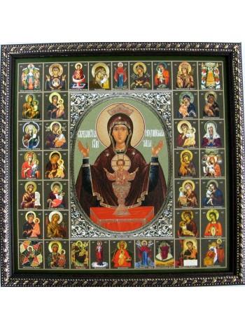Икона Божией Матери Неупиваемая Чаша и Собор Пресвятой Богородицы