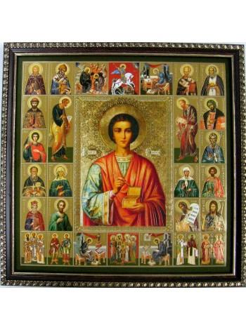 Икона Пантелеймон Целитель и Собор Святых