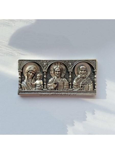 Дорожная икона из серебра