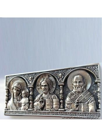 Дорожная икона со Святителем Николаем
