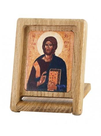 Икона-складень. Спас Вседержитель (Пантократор), 14 век, Афон