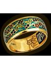 Кольцо. Образ цветущей и одновременно плодоносящей ветви оливы. Молитва Пречистой Божией Матери.