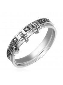 Кольцо с молитвой «Спаси и Сохрани»