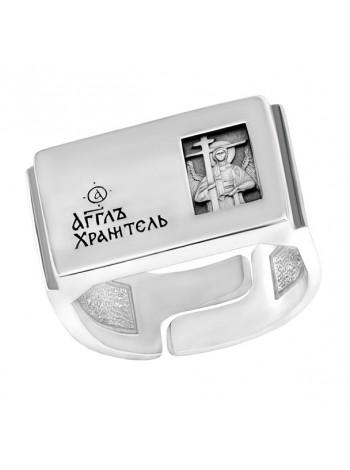 Православное кольцо с Ангелом Хранителем