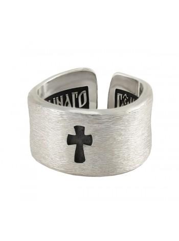 """Кольцо """"Наперсная молитва с крестом"""""""
