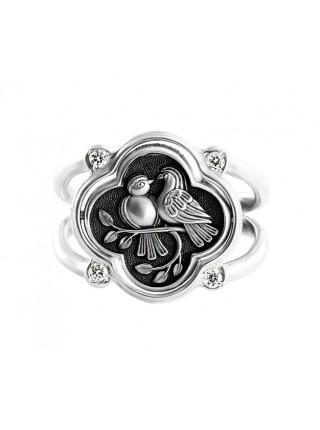 Кольцо с молитвой Ангелу Хранителю
