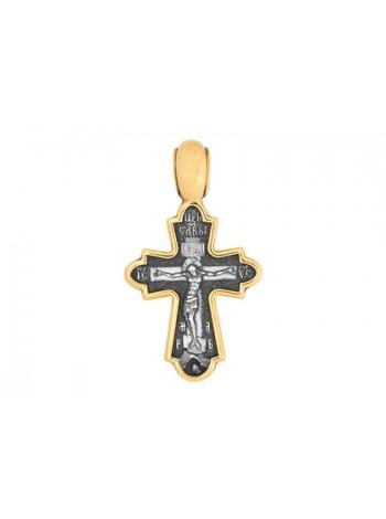 """Крест «Распятие. Божия Матерь """"Никопея""""»"""
