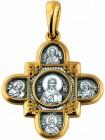 «Господь Вседержитель. Казанская икона Божией Матери и восемь святых»