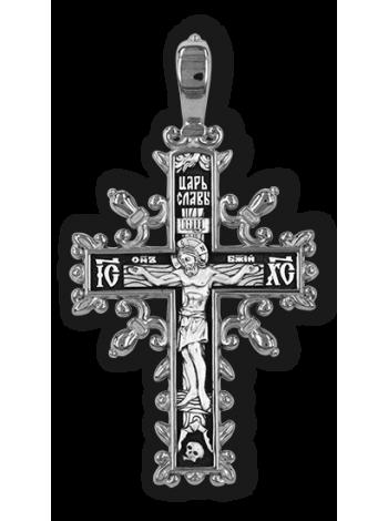Православный крест. Распятие Христово. Молитва Да воскреснет Бог.