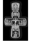 Распятие Христово с предстоящими. Спас Нерукотворный. Апостол Петр. Икона Божией Матери Знамение с пророками. Православный крест.