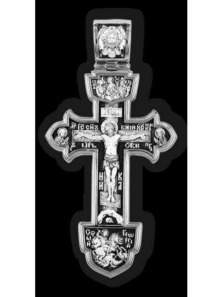 Деисус. Троица. Спас Нерукотворный. Великомученик Георгий. Святой блгн. князь Александр Невский.