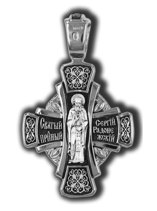 Деисус. Преподобный Сергий Радонежский.