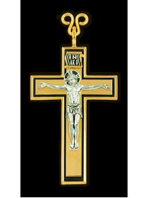 Наперсный четырёхконечный крест.