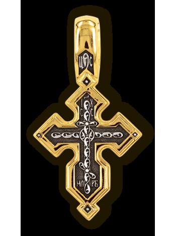 """Православный крест """"Молитва Да воскреснет Бог"""""""