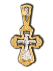 """Распятие Христово """"Валаамская икона Пресвятой Богородицы с предстоящими свв. Ксенией и Матроной"""""""