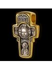 """Крест православный """"Спас Нерукотворный. Святитель Николай. Покров Пресвятой Богородицы."""""""