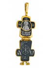 Крест-складень с образом Николая Чудотворца