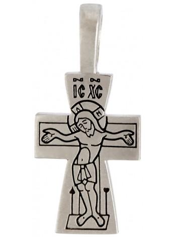 """Крест с изображениями """"Распятия и Ангела Хранителя"""""""