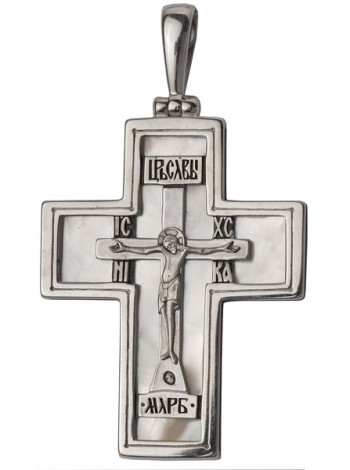 Крест с перламутром