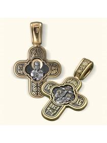 Нательный крест «Св. Николай Чудотворец»