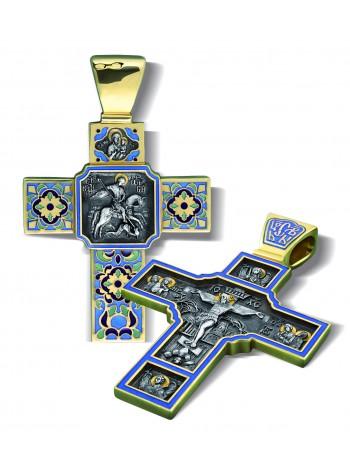 Крест с Св. Георгием Победоносцем