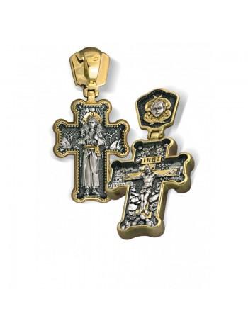 Крест нательный «Пастырь добрый»
