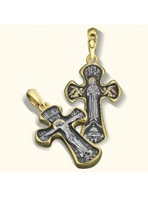 Нательный крест «Святая Блаженная Ксения»