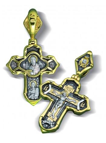 Крест «Святитель Спиридон Тримифунтский, Праведный Феодор Ушаков»