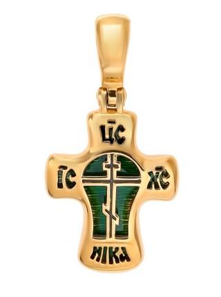 Крест нательный двухсоставной