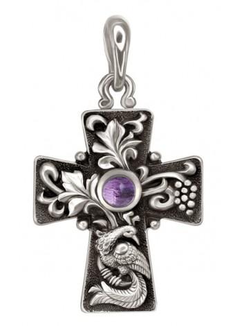Православный крест серебряный