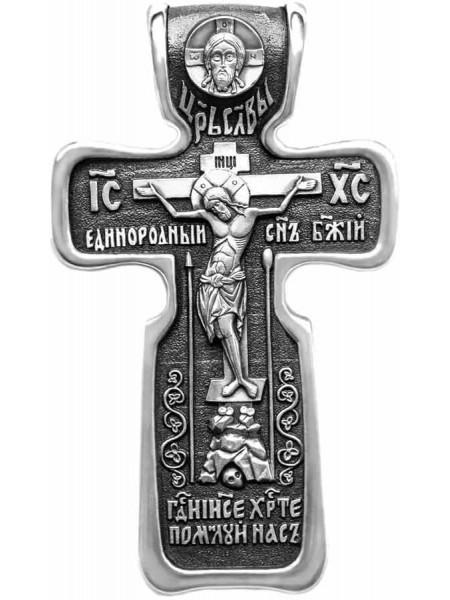 Крест с Распятием и образом св. Николая Чудотворца