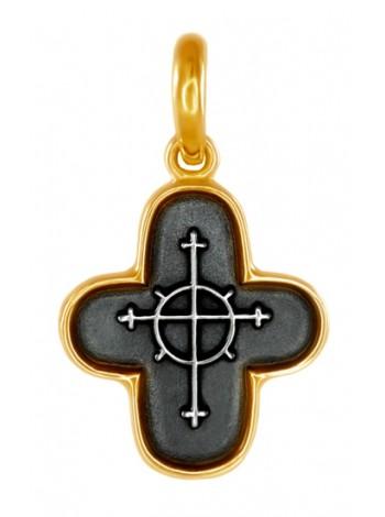 Крест нательный с молитвой
