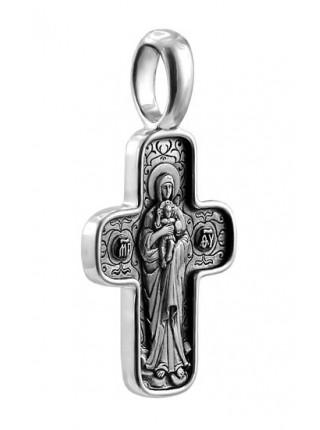 """Крест """"Валаамский"""" с образом Божией Матери"""