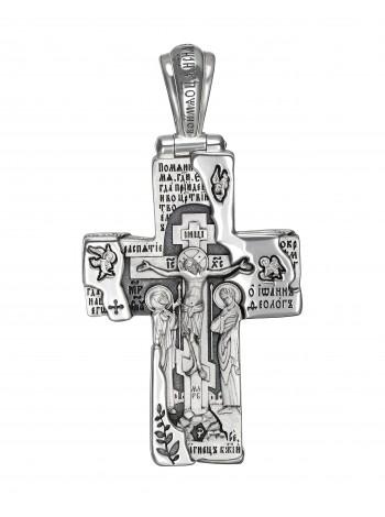 Православный крест с Ангелом-Хранителем