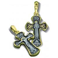 Крест нательный «Святая Блаженная Ксения»