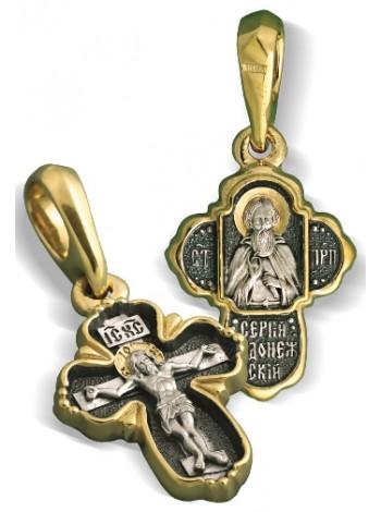 Крест нательный «Сергий Радонежский»