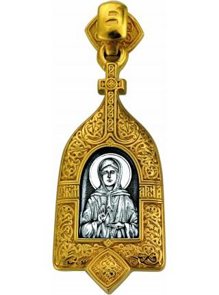 «Икона Божией Матери «Взыскание погибших». Святая блаженная Матрона»