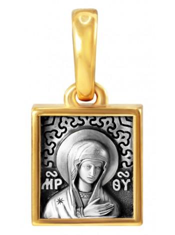 Образок нательный Божией Матери «Невская Скоропослушница»