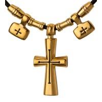 Крест-подвеска на шнуре