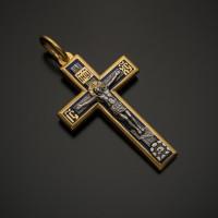 Крест православный прямой