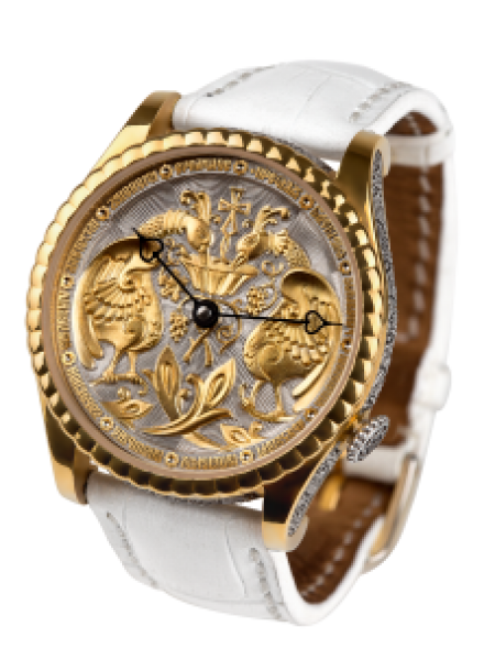 Часы «Дивный сад»